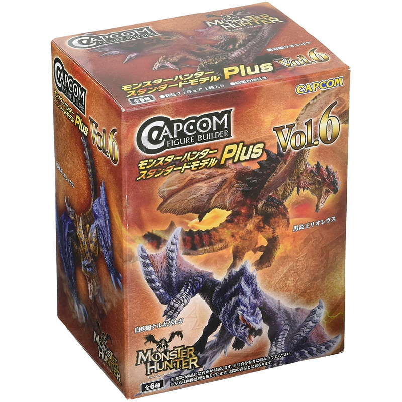 Monster Hunter- Figure Builder - Standard model Plus Vol. 6 (CAJA ALEATORIA)