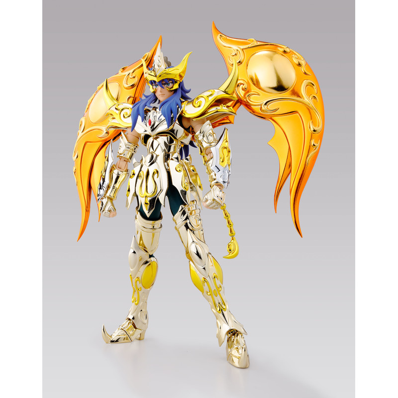 Saint Seiya Myth Cloth EX Soul of Gold - Milo de escorpio - Armadura Divina