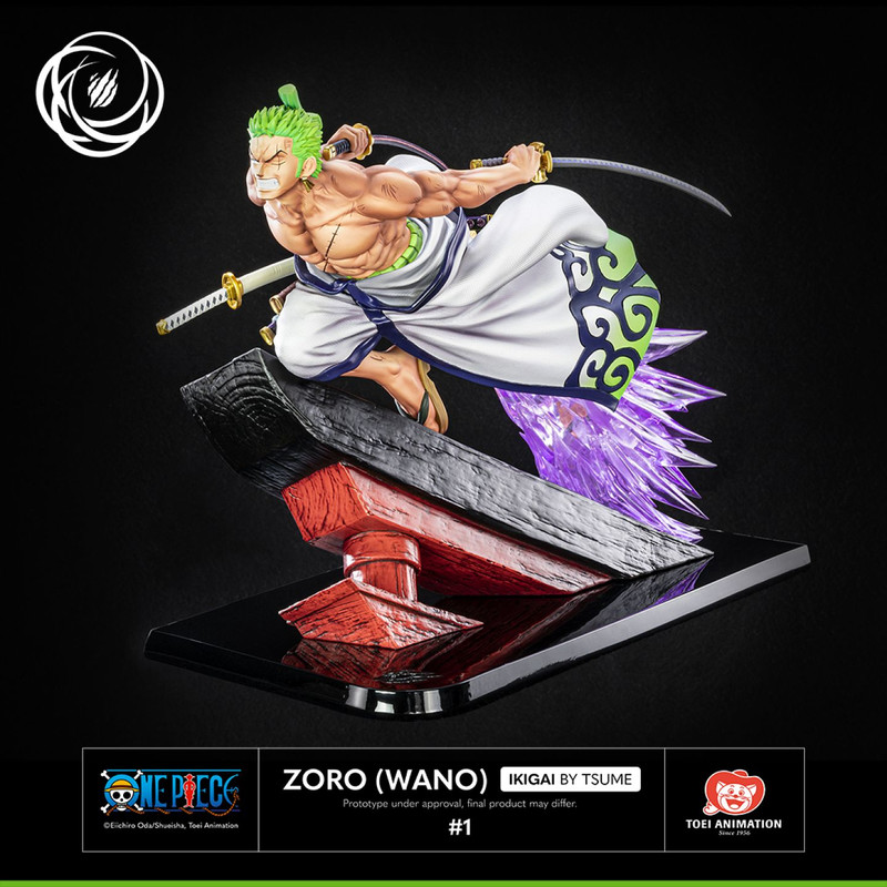 One Piece - Zono Wano - Ikigai Resina