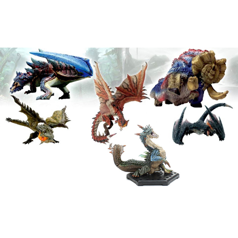 Monster Hunter- Figure Builder - Standard model Plus Vol. 4 (PACK COMPLETO)
