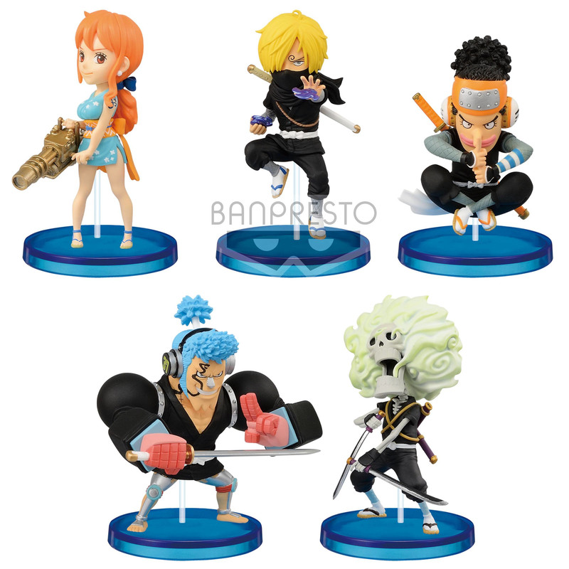 One Piece - WCF Wanokuni Style 2 (Pack completo)