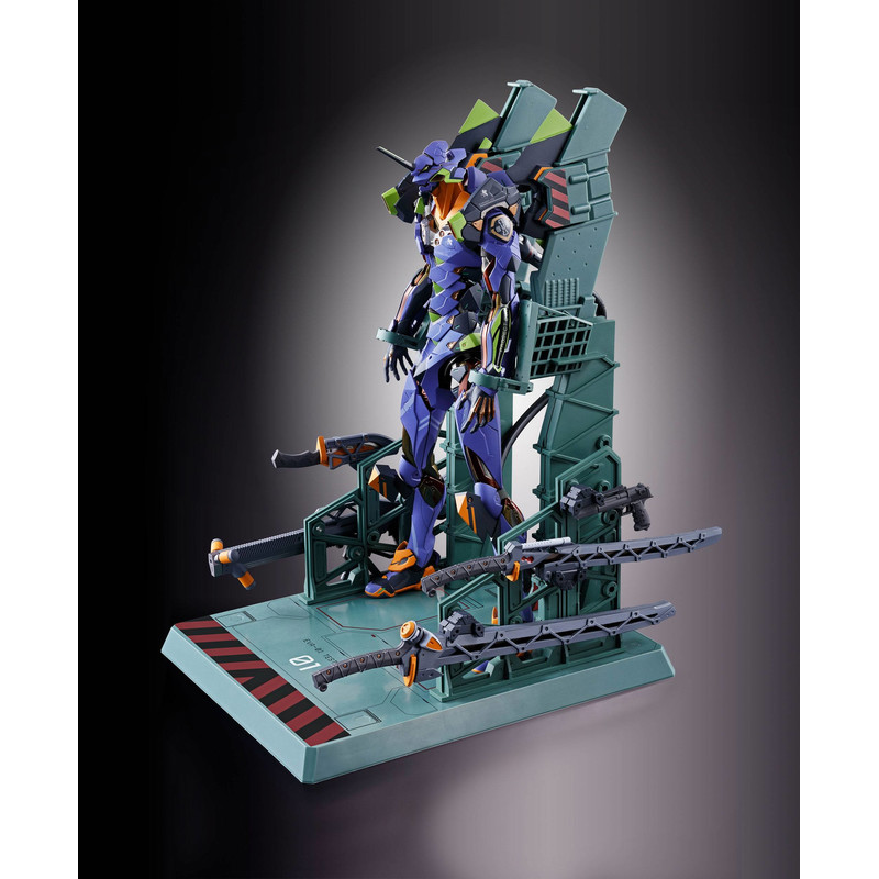 Neon Genesis Evangelion Figura Diecast Metal Build EVA-01 Test Type