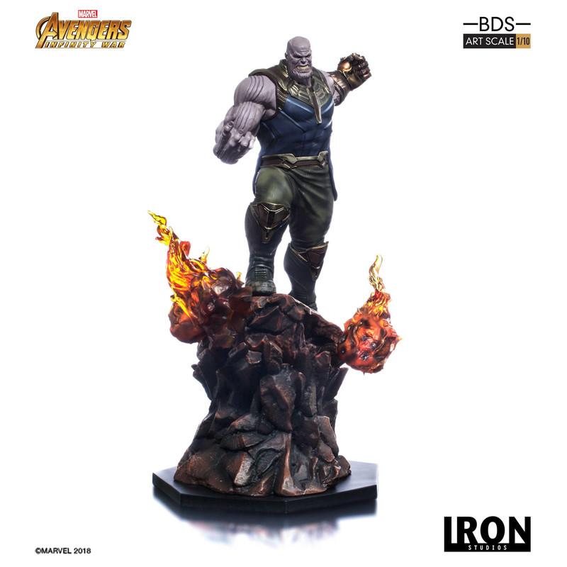 Vengadores infinity War - Thanos - Iron Studios