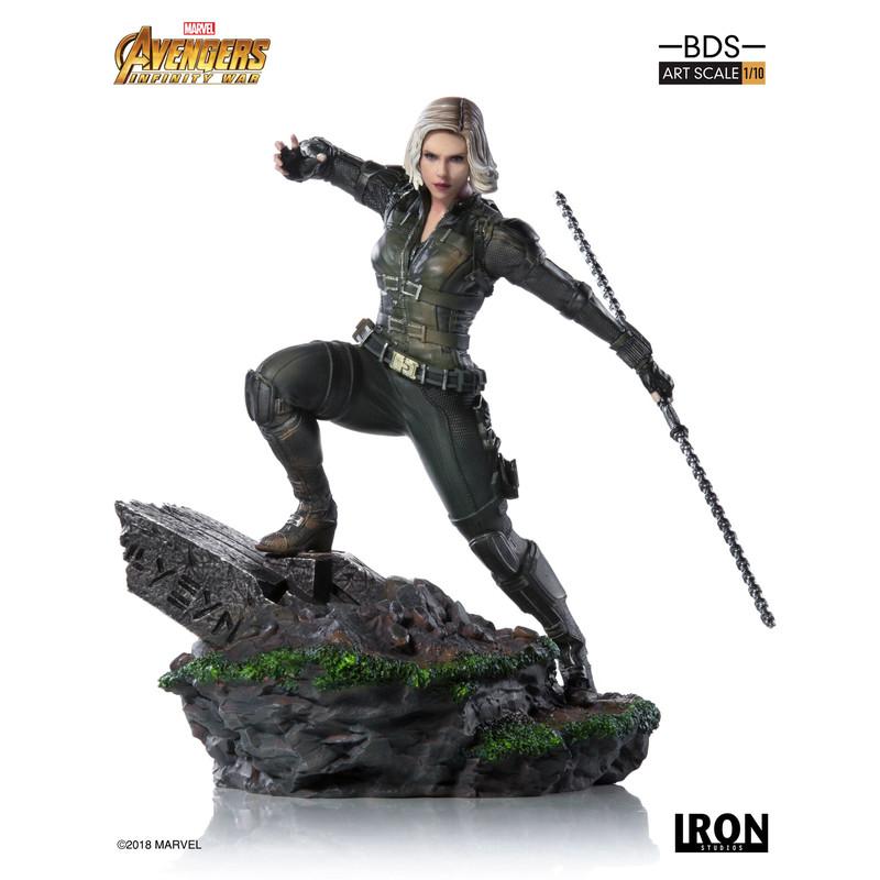 Vengadores Infinity War - Black Widow - Scale 1/10