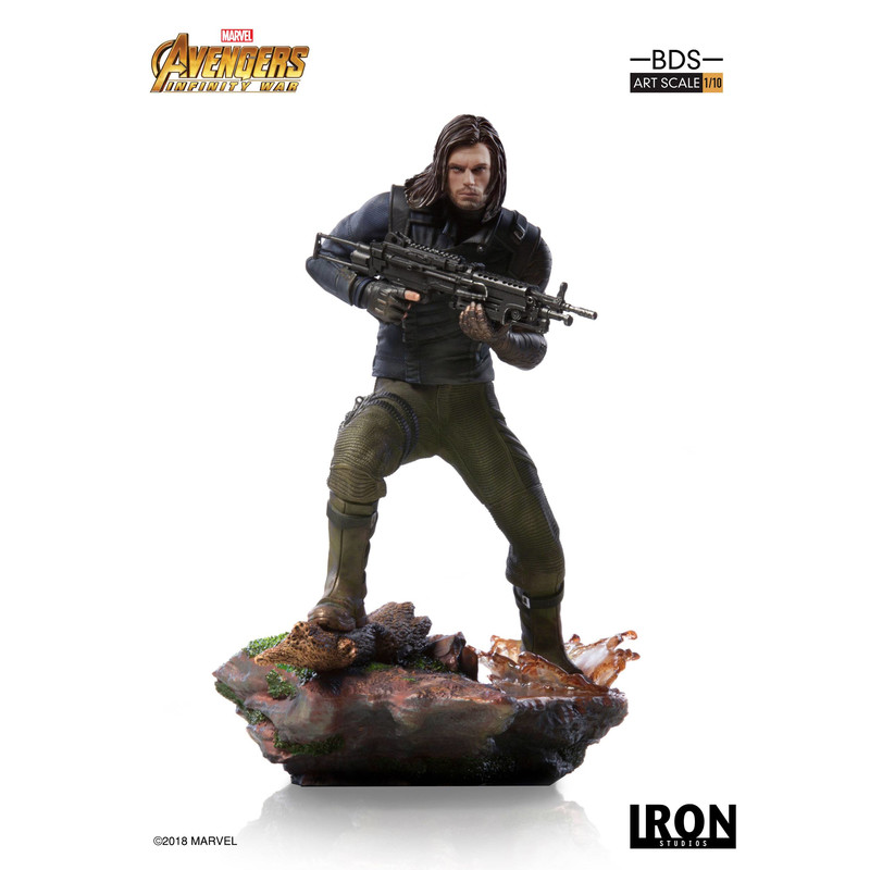 Vengadores Infinity War - Winter Soldier - Scale 1/10