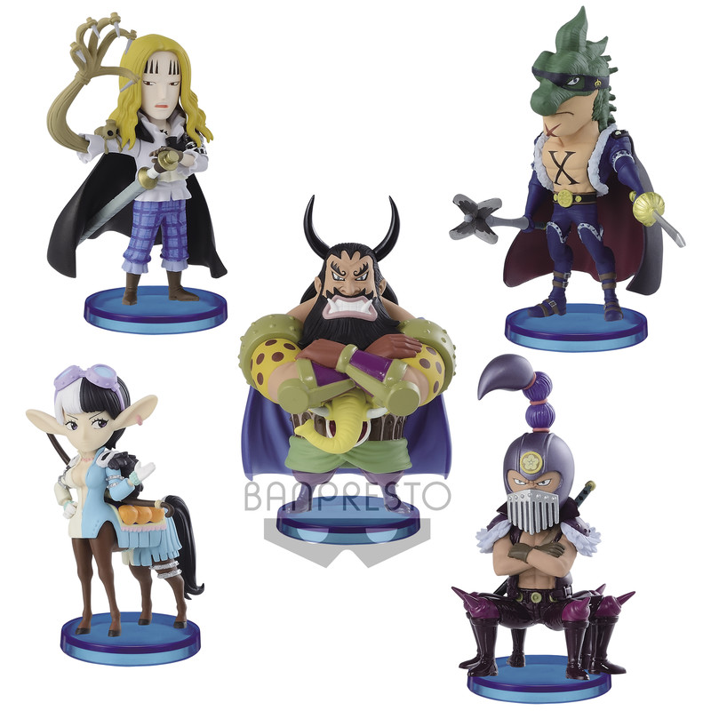 One Piece - WCF Beasts Pirates 2 (Pack completo)