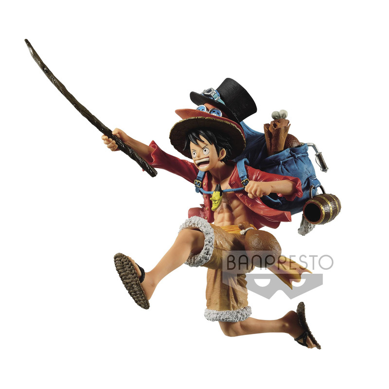 One Piece - Monkey D. Luffy -  DXF - Three Brothers