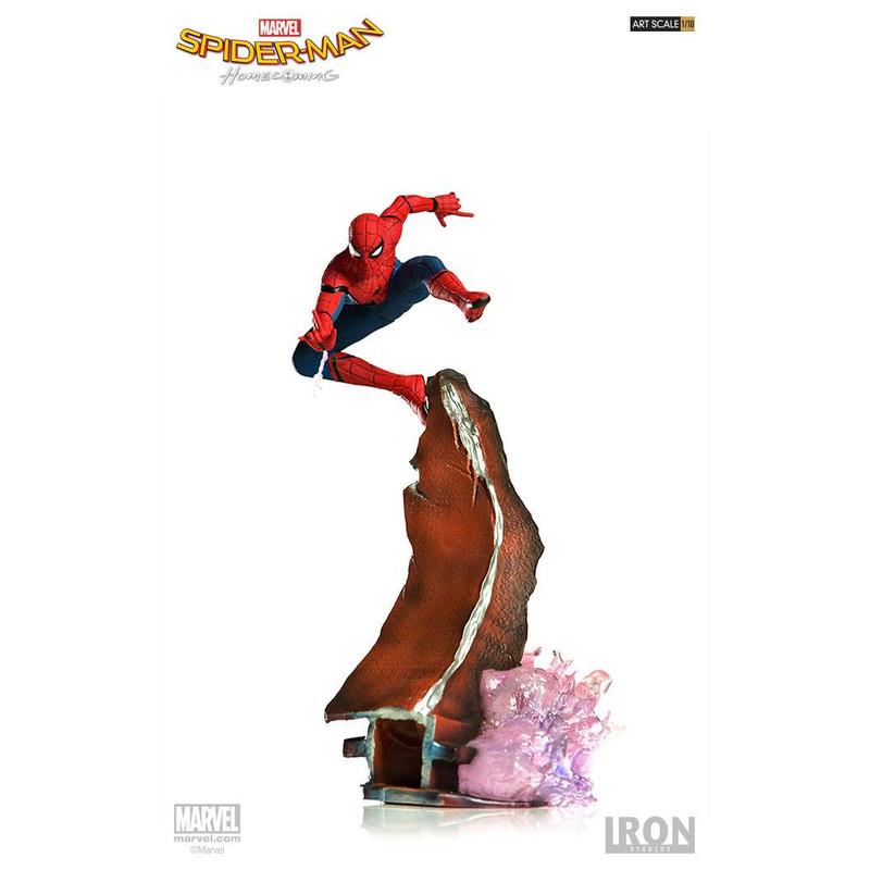 Spider-Man Homecoming - Spider-Man - Iron Studios 1/10
