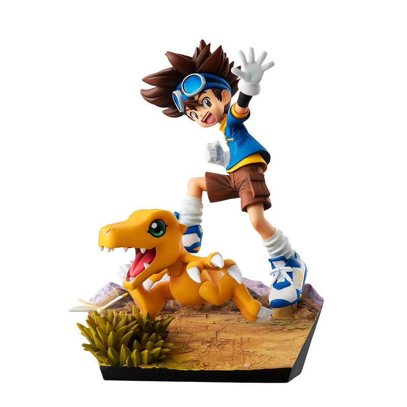 Digimon Adventure - Yagami & Agumon - G.E.M. series - 20th anniversary
