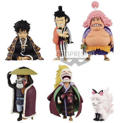 One Piece - WCF Wanokuni Vol. 8 (Pack completo)