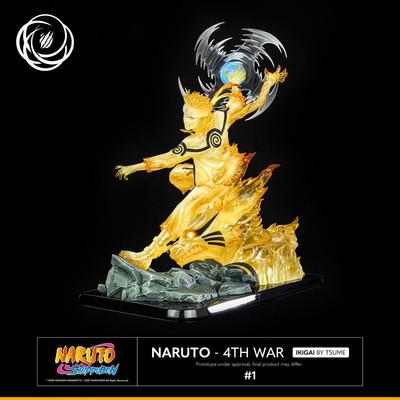 Naruto Shippuden - Naruto 4th war - Ikigai