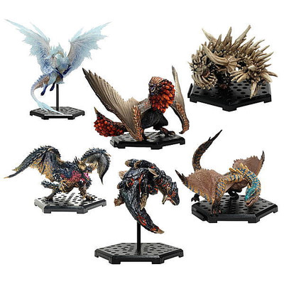 Monster Hunter- Figure Builder - Standard model Plus Vol. 14 (PACK COMPLETO)