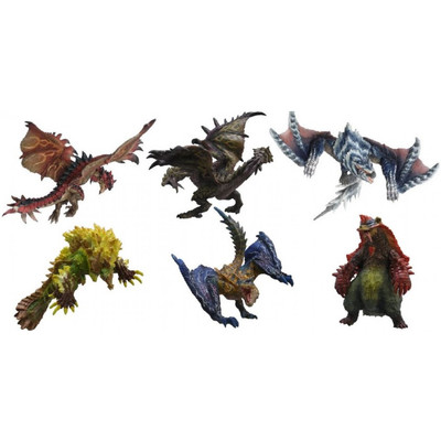 Monster Hunter- Figure Builder - Standard model Plus Vol. 6 (PACK COMPLETO)