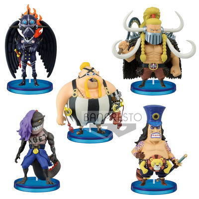 One Piece - WCF Beasts Pirates 1 (Pack completo)