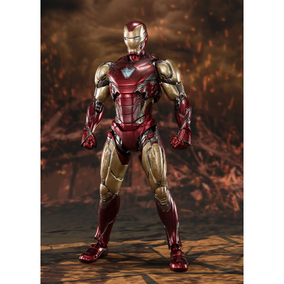 Vengadores End Game - Iron-man mk85 - SH Figuarts