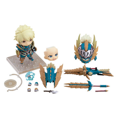 Monster Hunter - Nendoroid - Male Zinogre Alpha armor edition DX
