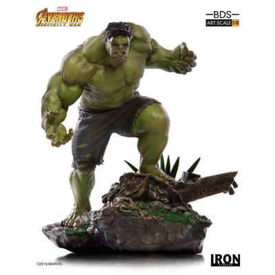 Vengadores Infinity War - Hulk - Scale 1/10