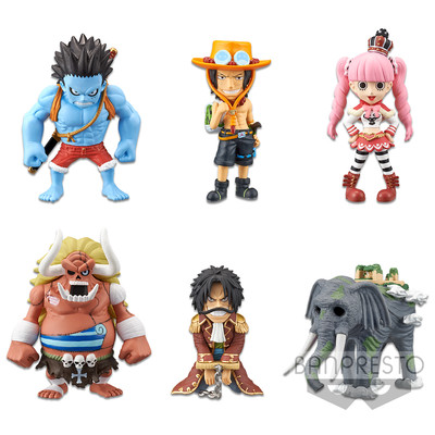 One Piece - WCF Treasure Rally Vol. 2 (Pack completo)