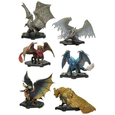 Monster Hunter- Figure Builder - Standard model Plus Vol. 13 (PACK COMPLETO)