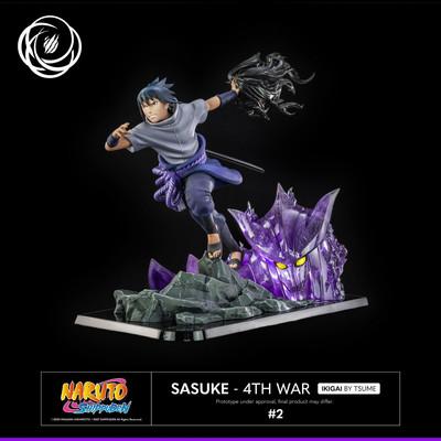 Naruto Shippuden - Uchiha Sasuke 4th war - Ikigai
