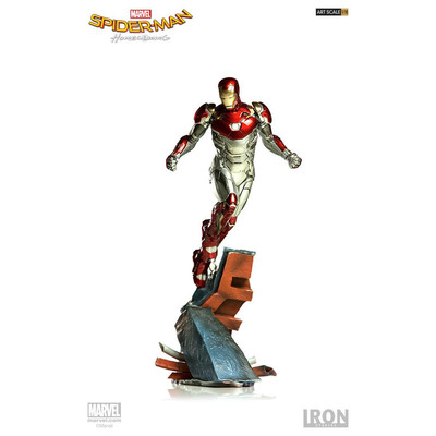 Spider-man Homecoming - Estatua Battle diorama series - Iron man Mark XLVII - 1/10